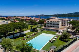 Italy, Sardinia, Arzachena, Blu Baja Hotel