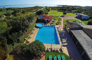 Italy, Sardinia, San Teodoro, Hotel Li Suari Club