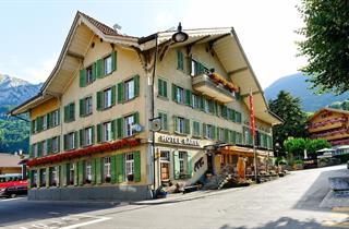 Switzerland, Jungfrau, Wilderswil, Hotel Bären