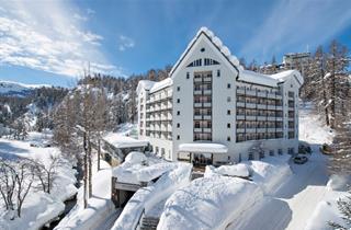 Switzerland, St. Moritz – Engadin, Sils, Arenas Resort Schweizerhof