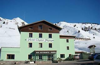 Italy, Adamello Ski, Passo Tonale, Hotel Alpino