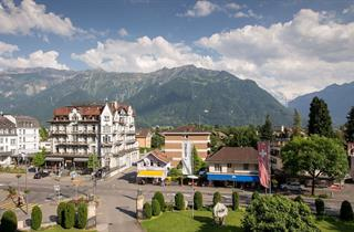 Switzerland, Jungfrau, Interlaken, Lindner Grand Hotel Beau Rivage