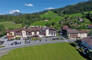 Austria, Kitzbuhel Alps, Kirchberg, Lifthotel