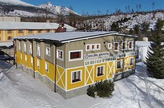 Slovakia, Hrebienok-Stary Smokovec, Vysoké Tatry, Hotel Koliba Kamzik