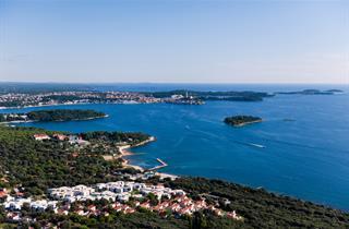 Croatia, Istria, Rovinj, Resort Amarin