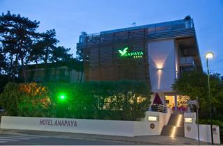 Italy, Northern Adriatic Riviera, Lignano, Hotel Anapaya