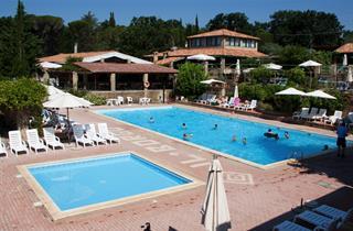 Italy, Tuscany, Guardistallo, Apartments Il Borgo Centro Vacanze