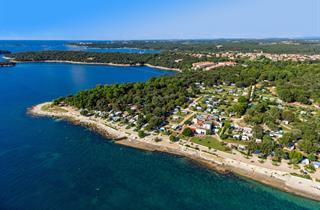 Croatia, Istria, Vrsar, Camping Valkanela