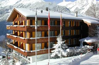 Switzerland, Jungfrau, Wengen, Hotel Bellevue