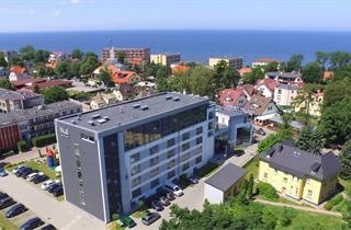 Poland, Baltic Sea Coast, Ustronie Morskie, Hotel Skal