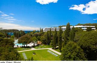 Croatia, Istria, Rovinj, Hotel Eden