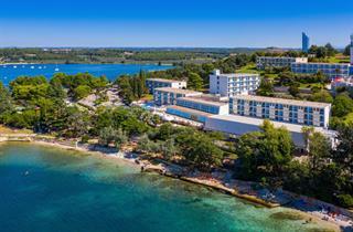 Croatia, Istria, Porec, Hotel Zorna