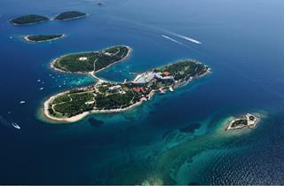 Croatia, Istria, Rovinj, Island Hotel Istra