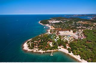 Croatia, Istria, Rovinj, Hotel Family Amarin