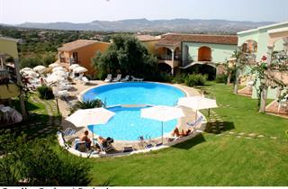 Italy, Sardinia, Badesi, Apartment Residence Badus