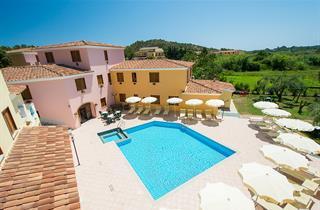 Italy, Sardinia, Orosei, Apartment Residence Cala Viola
