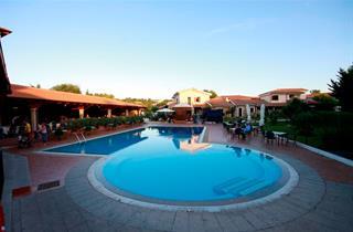 Italy, Sardinia, San Teodoro, Hotel Club Le Rose