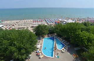 Italy, Central Adriatic Riviera, Riccione, Alexandra Plaza