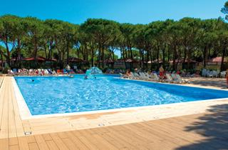 Italy, Northern Adriatic Riviera, Jesolo, Camping Happy Family