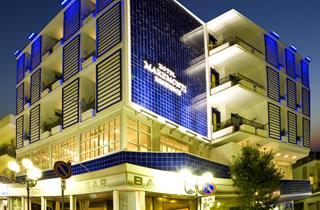 Italy, Central Adriatic Riviera, Gabicce Mare, Hotel Maremonti