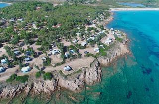 Italy, Sardinia, Palau, Camping Capo D'Orso