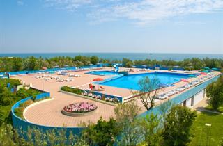 Italy, Northern Adriatic Riviera, Rosolina, Camping Rosapineta