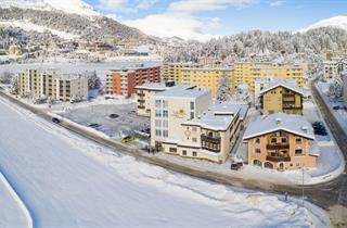 Switzerland, St. Moritz – Engadin, St. Moritz, Hotel Restaurant Pizzeria Sonne