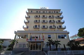 Italy, Central Adriatic Riviera, Ravenna, Hotel Anthisa