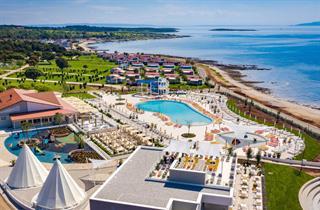 Croatia, Istria, Medulin, Camping Arena Grand Kazela