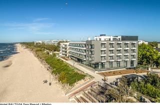 Poland, Baltic Sea Coast, Mielno, BALTIVIA Sea Resort